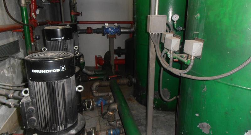 Depósitos de agua y Grupos de Presión puesta en marcha - I+D Control de Plagas
