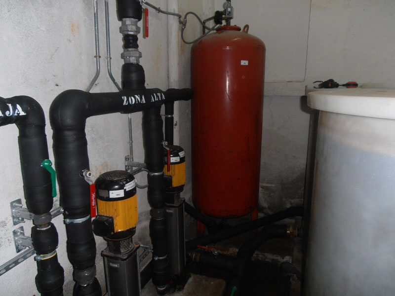 Desinfección de aljibes de agua potable y grupos de presión - I+D Control de Plagas Madrid