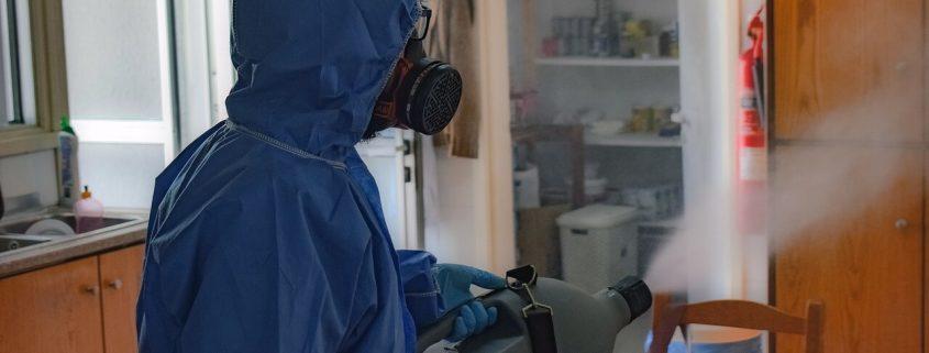 Nos encargamos de la desinfección del COVID19 en tu negocio